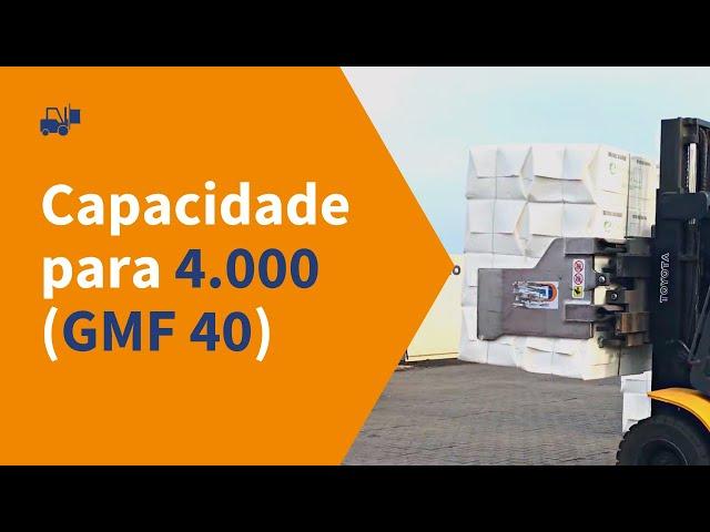 GMF 40 - clamp para movimentação de celulose