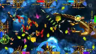 Dragon King (King of treasures english version with machine guns)fish hunter game machine