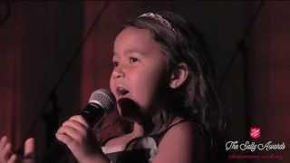 5 Year Old Heavenly Joy sings