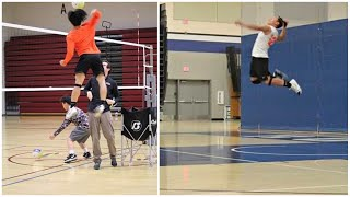 Hinata in Real Life - Chai Yang | Height 162cm - Spike 320cm | Crazy Vertical Jump