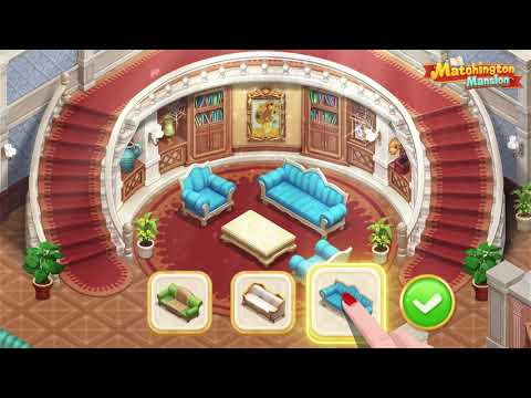Matchington Mansion: Match-3 Home Decor Adventure
