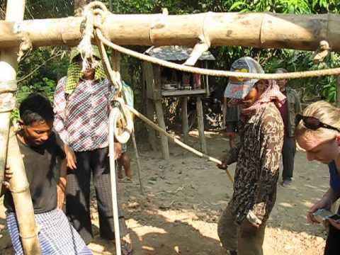 How to dig a well in Cambodia