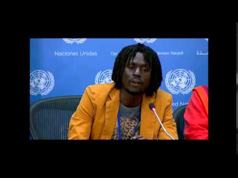 On South Sudan, ICP Asks Emmanuel Jal about Cluster Bombs, He Cites Compounds Raided by Government