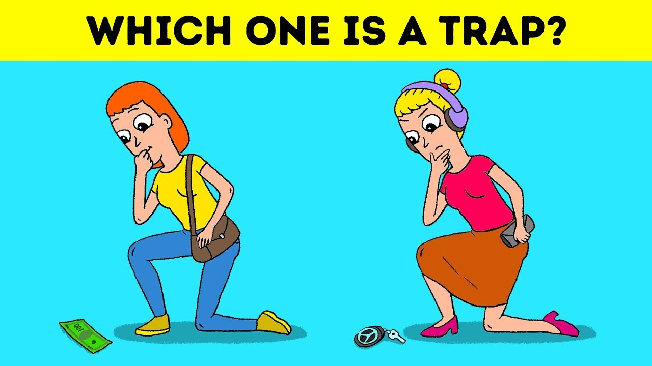 WHAT WOULD YOU DO? Riddles To Train You For Extreme Situations