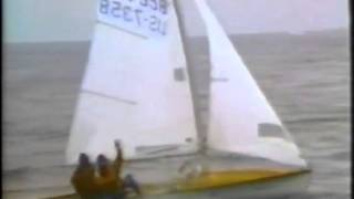 505 Worlds, Enoshima/Japan 1985 - Introduction of competitor teams