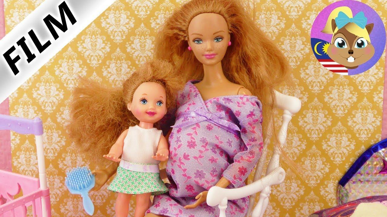 Filem Barbie Hamil Patung Mengandung Dengan Baby Dalam Perut Happy Family Midge Baby Youtube