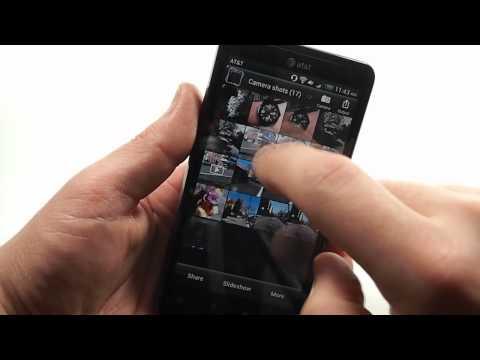 HTC Vivid Android 4.0 Ice Cream Sandwich software walkthrough
