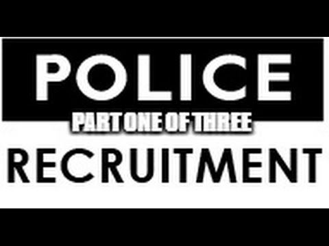 The Hiring Process Of Becoming A Police Officer - Part One Application & Academy