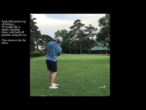 7 26 2018 Scott McCarron tip on pitching like a putter shot