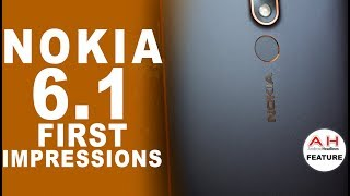 Nokia 6.1 First Impressions - Black and Copper are a Showstopper