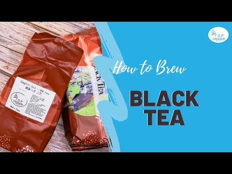 HOW TO BREW BLACK TEA & OOLONG TEA