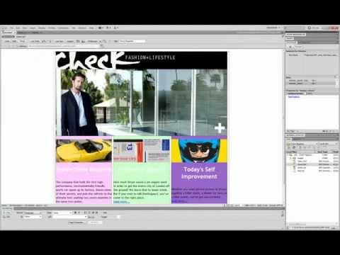 Dreamweaver CS5.5 Tutorial (Div Tags and CSS)