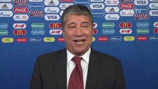 Hernan GOMEZ – Panama - Final Draw Reaction