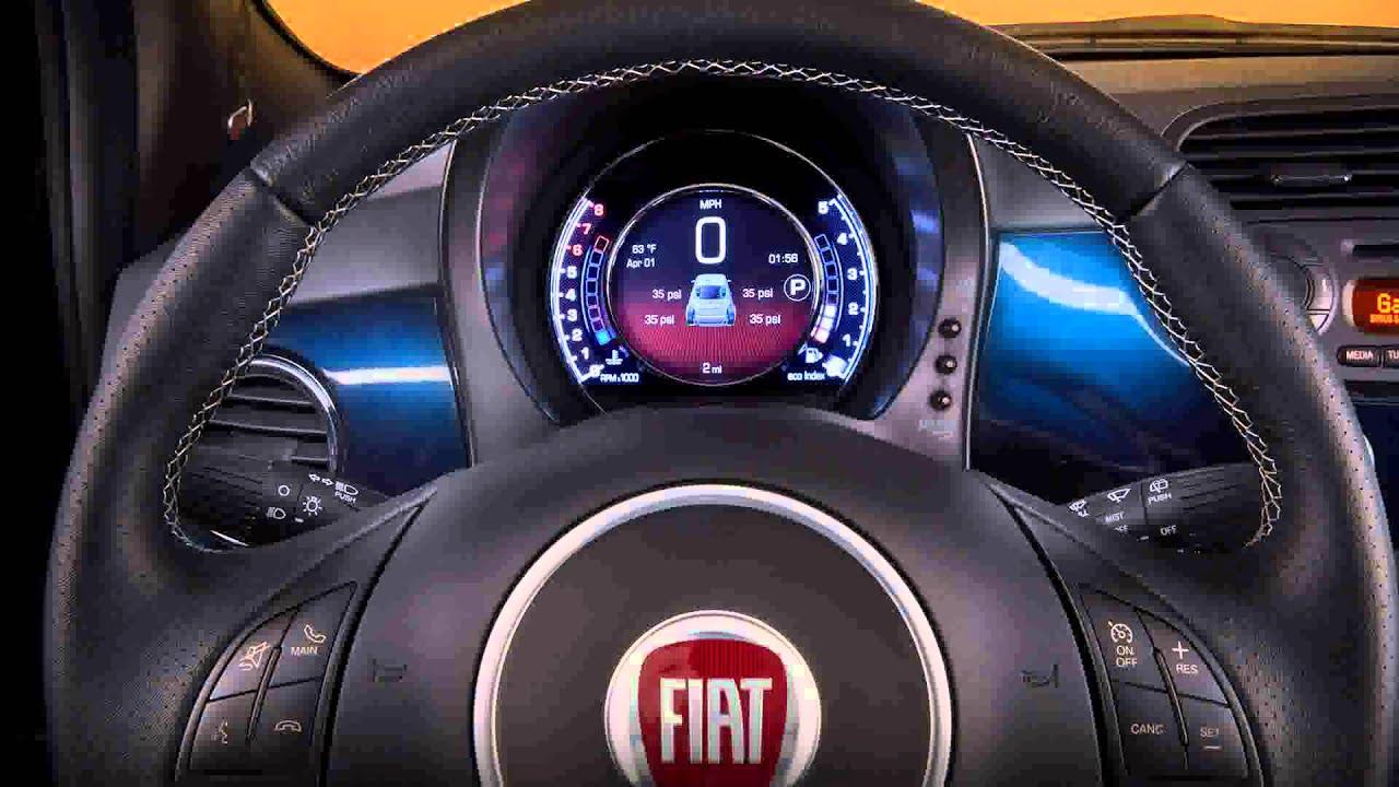 Fiat 2015 Model Fiat 500 Sport Youtube