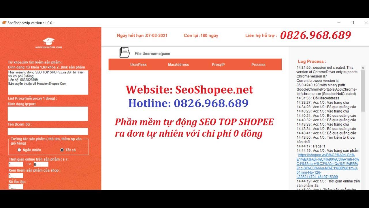 Shopee Seo – Hướng dẫn Seo Top Shopee ra đơn tự nhiên bằng tool không tốn một đồng nào