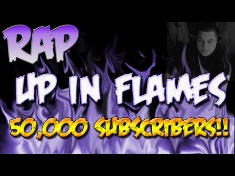 50k Subscriber Dubstep RAP ♪ Up in Flames | Iniquity