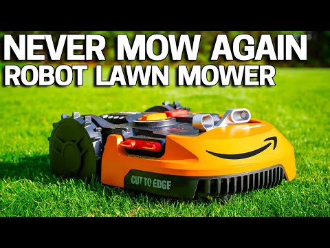 Are ROBOT LAWN Mowers Any Good? 🤖Worx Landroid