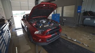 SHELBY GT500 MAKES 640WHP WITH 2 SIMPLE MODS!
