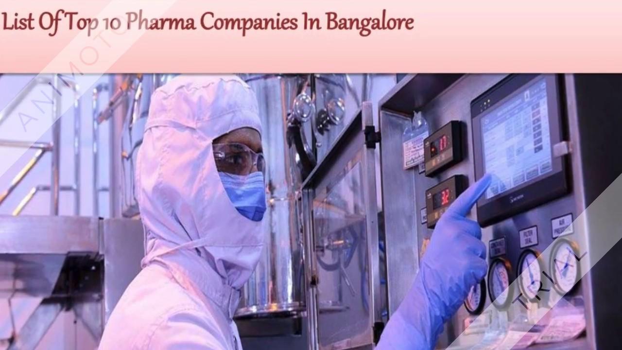 Top 10 Pharma Companies in Bangalore | Pharma firms in Karnataka