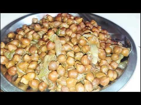 Ghughari - a traditional Indian snack