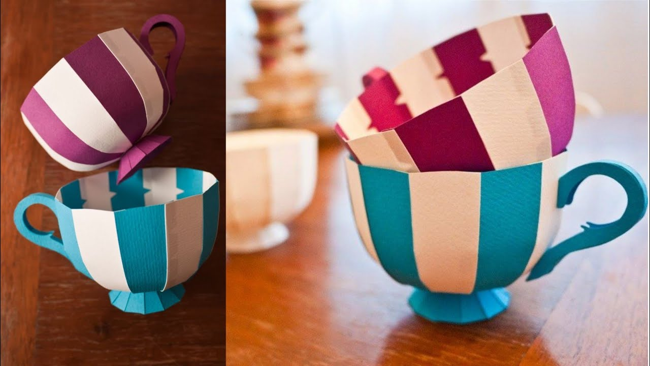 3d Origami Teacup 3d Origami Cup Paper by ArtsyHandsCreations ... | 720x1280