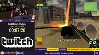 Knight Rider 2: The Game [Any%] by tocaloni1 - #ESASummer19