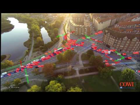 DataFromSky & COWI – traffic analysis in Copenhagen