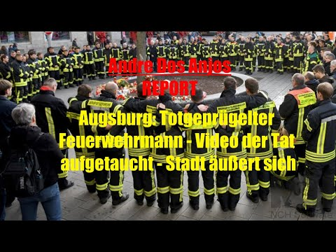 Augsburg Feuerwehrmann Tot