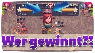 LIVE Clan Wars Angriffe! #2  5 Minuten für 2 Angriffe!?   Clash of Clans [Deutsch/German]