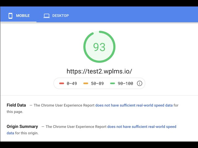Optimising WPLMS v 4