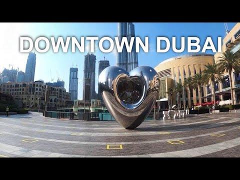 Mini Virtual Walking Tour in Burj Khalifa Lake Downtown Dubai (Dec. 8, 2020)