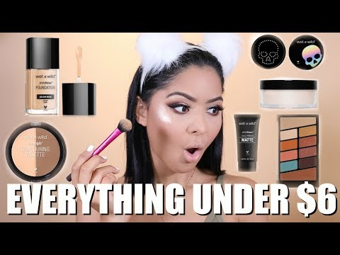 FULL FACE OF WET N WILD | MAKEUP UNDER $6