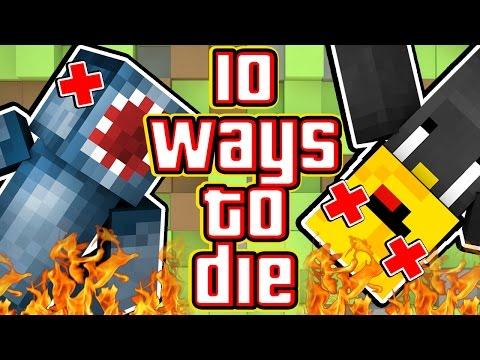 10 WAYS TO DIE IN MINECRAFT! - W/AshDubh