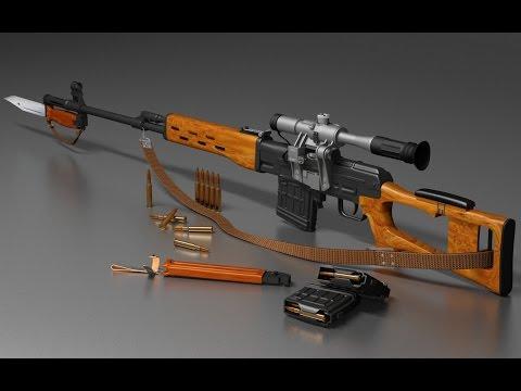 Тайные характеристики снайперской винтовки СВД