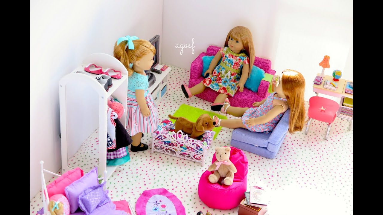 american girl doll maryellen bedroom youtube 14010 | maxresdefault