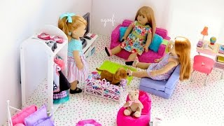 American Girl Doll Maryellen Bedroom! HD!