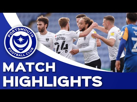 Shrewsbury Portsmouth Goals And Highlights