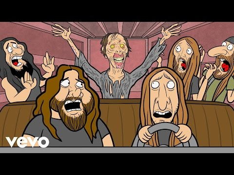 "Obituary release animated video ""Violence"""