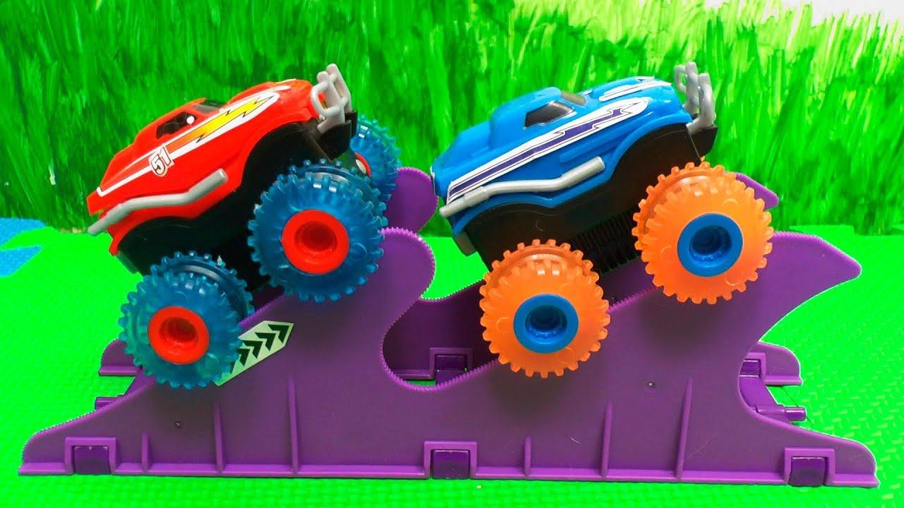 Машинки для детей - Играем машинками Trix Trux - Игрушки для мальчиков