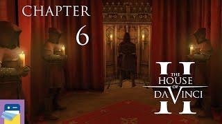 The House of Da Vinci 2: Chapter 6 Secret Library Walkthrough & Gameplay (by Blue Brain Games)