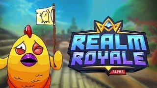 KIPRÓBÁLTUK A REALM ROYALET! | ÚJ BATTLE ROYALE GAME! (Realm Royale)
