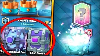 FREE SUPER MAGICAL & EPIC CHEST DROP! | Clash Royale | OPENING LEGENDARY CHEST OFFER!!