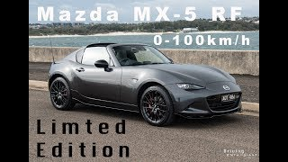 2018 Mazda MX-5 RF Limited Edition: 0-100km/h, exhaust sound, walk-around