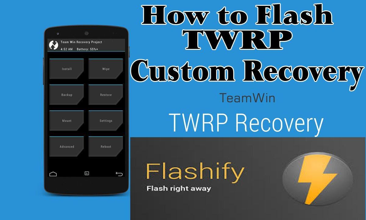 Huawei Y511-How to flash TWRP Custom Recovery on Your Android | With  Flashify ROOTED