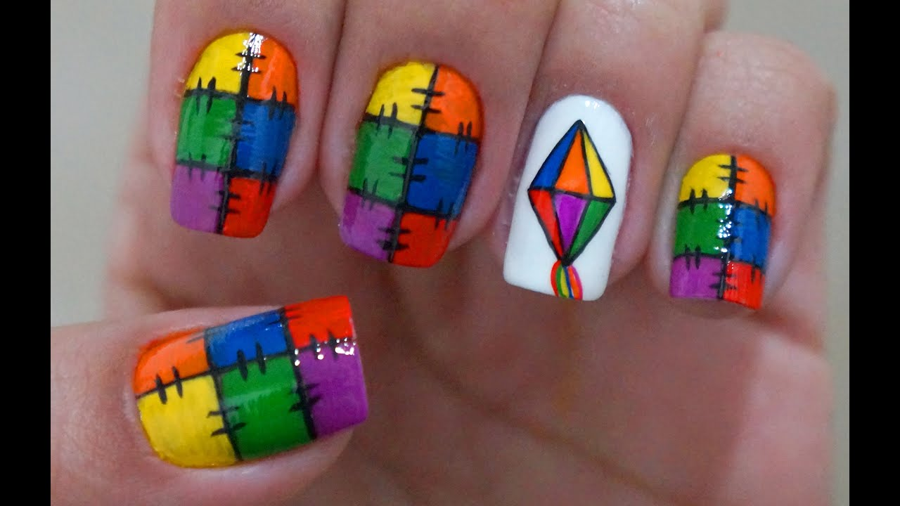 Armario Leroy Merlin Basic ~ Unhas Decoradas Festa Junina Bal u00e3o e Retalhos Manual Bela e Simples YouTube