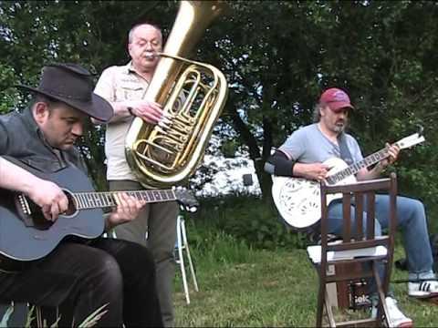 Kurt Krause , Tuba Tim & Horst of Holtfeld 1 Lagerfeuerjam 2016