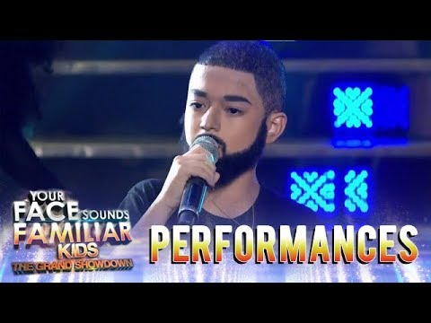 Your Face Sounds Familiar Kids 2018: Marco Masa as Drake  In My Feelings