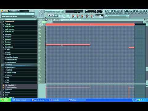 Dr. Dre - Kush (FL Studio Tutorial)
