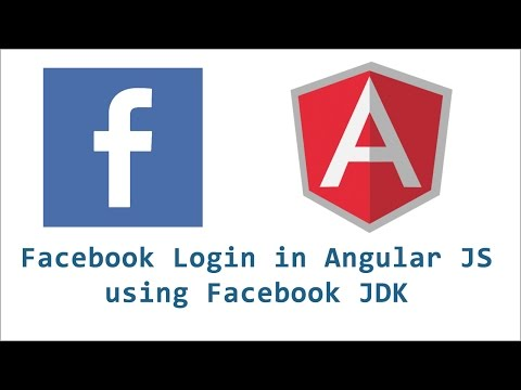Facebook login in Angular JS using Facebook JDK
