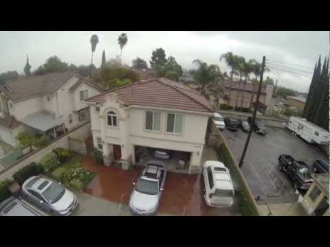 GoPro Hero 3 Black Edition Quick Aerial Test 1080p 60fps Wide